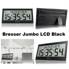 Часы настенные электронные Bresser Jumbo LCD Black (7001802CM3000)