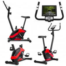 Велотренажер магнитный для дома Hop-Sport HS-045H Eos Red
