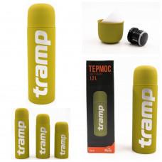 Термос 1.0 л Tramp Soft Touch (TRC-109-yellow)