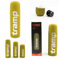 Термос 1.2 л Tramp Soft Touch (TRC-110-yellow)