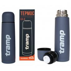 Термос питьевой 0.5 л Tramp Basic Grey (TRC-111), Термос для напитков Трамп 500 мл