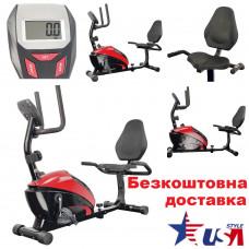 Велотренажер USA Style Iron Master (352R) магнитный горизонтальный