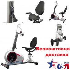 Велотренажер USA Style Iron Master (511RM) для реабилитации рук и ног горизонтальный
