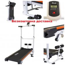 Беговая дорожка USA Style SW-100 механическая для ходьбы и реабилитации