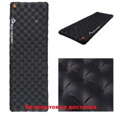 Коврик надувной Sea to Summit Ether Light XT Extreme Mat Rectangular Regular Wide Black/Orange 183х64х10 см (STS AMELXTEXMRRW)