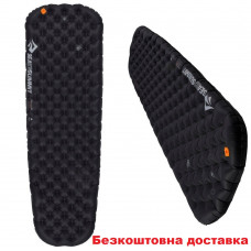 Коврик надувной Sea to Summit Ether Light XT Extreme Mat L Black/Orange 198х64х10 см (STS AMELXTEXML)