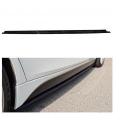 Лезвия под пороги BMW 3 F30 M-Performance стиль M3 АБС пластик (33031401), Накладки под пороги БМВ 3 Ф30
