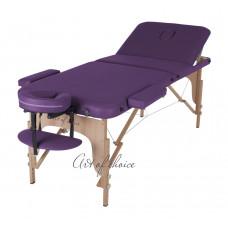Массажный стол Art Of Choice DEN фиолетовый