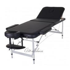 Массажный стол Art Of Choice LEO черный