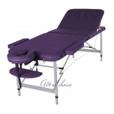 Массажный стол Art Of Choice LEO фиолетовый