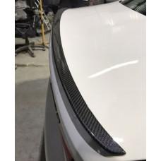 Карбоновый спойлер BMW 5 G30 стиль M5, Лип спойлер карбоновый БМВ 5 Г30, Спойлер BMW 5 Series Карбон (53031306)