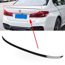 Спойлер для BMW 5 G30 M5 липспойлер стеклопластик черный глянец (53031304)