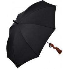 Зонт трость полуавтомат в виде ружья Fare 7007 черный