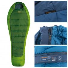 Весенне-осенний спальный мешок-кокон Pinguin Mistral 185 Green, Left Zip (PNG 213.185.Green-L)