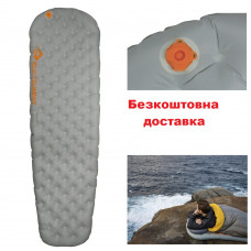Надувной коврик Sea To Summit Ether Light XT 2020 Insulated Mat Pewter Large 198х64х10 см (STS AMELXTINS_L)