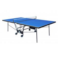 Теннисный стол для помещений GSI Sport Compact Strong Blue (Gk-5)