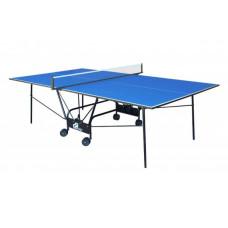 Теннисный стол для помещений GSI Sport Compact Light Blue (Gk-4)