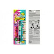 Детский лак-карандаш для ногтей Creative Nails на водной основе (2 цвета зелёный + голубой)