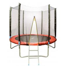 Батут d=2,5м с сеткой и лестницей Housefit HSF 8FT