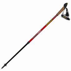 Палки для скандинавской ходьбы Vipole Vario Top-Click Red DLX S1857