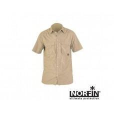 Рубашка с коротким рукавом Norfin Cool (беж.) размер S