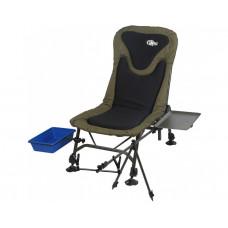 Кресло карповое рыболовное с обвесами Norfin Boston (NF-20612), Кресло для рыбалки Норфин Бостон