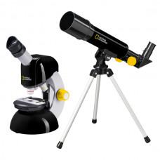 Микроскоп National Geographic Junior 40x-640x + Телескоп 50/360 (Base)