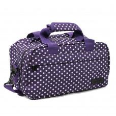Сумка дорожная Members Essential On-Board Travel Bag 12.5 Purpl Polka