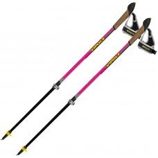 Палки для скандинавской ходьбы Vipole Instructor Vario QL Violet DLX S2029
