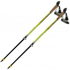 Палки для скандинавской ходьбы Vipole Instructor Vario QL Green DLX S2028